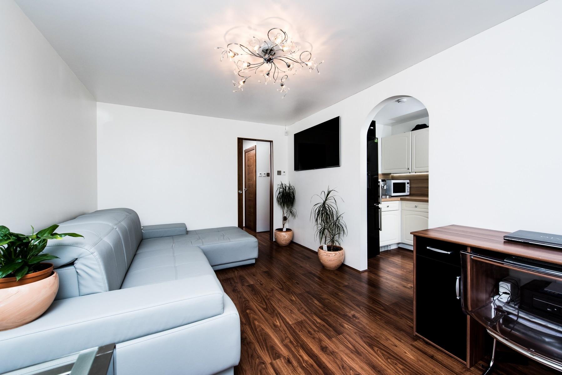 Living room renovation in Docklands