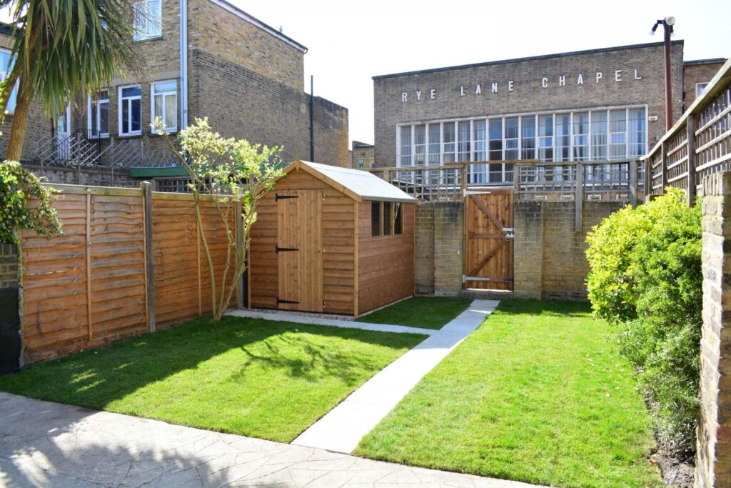 Garden renovation, Peckham, London