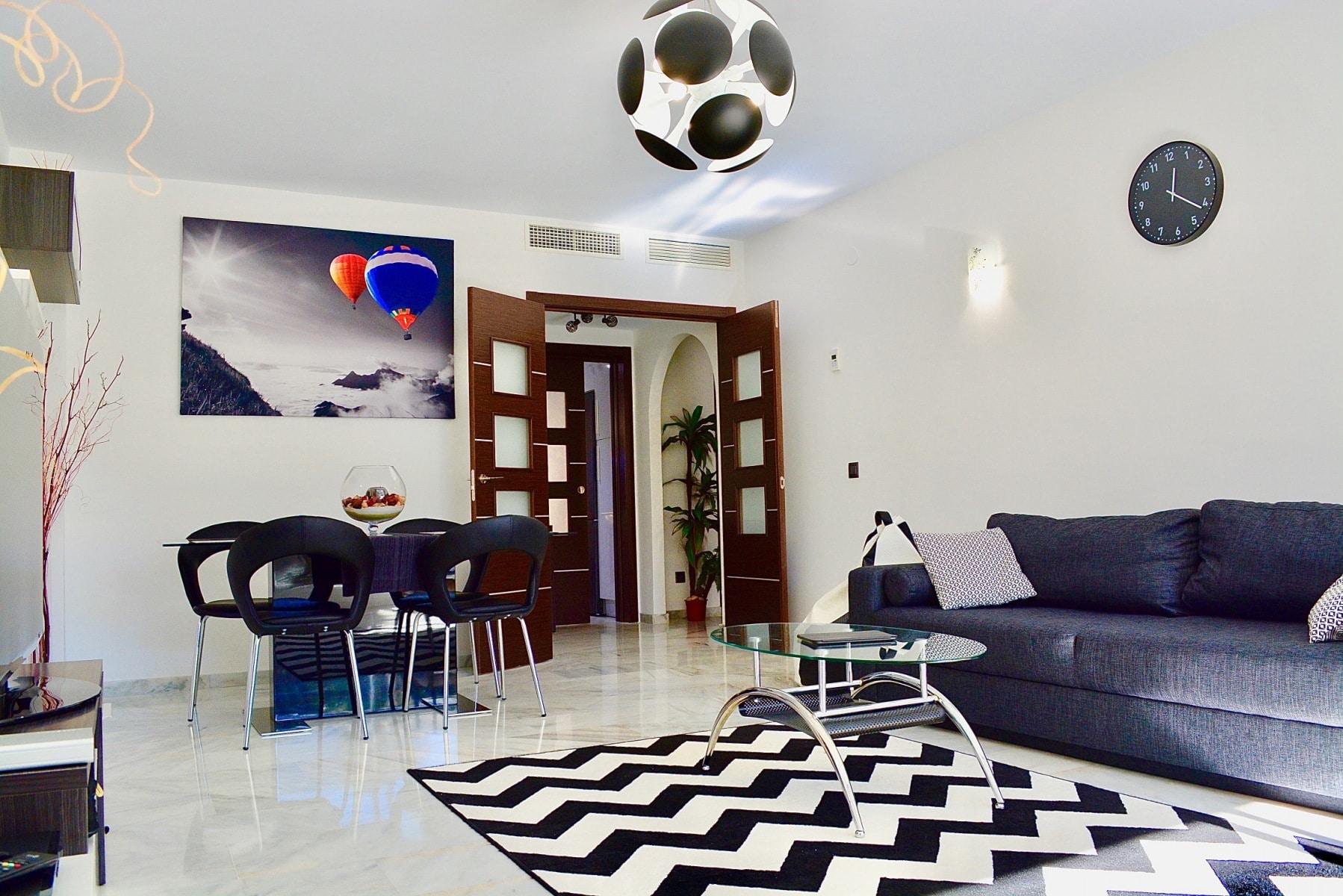 Living room renovation, new wooden floors