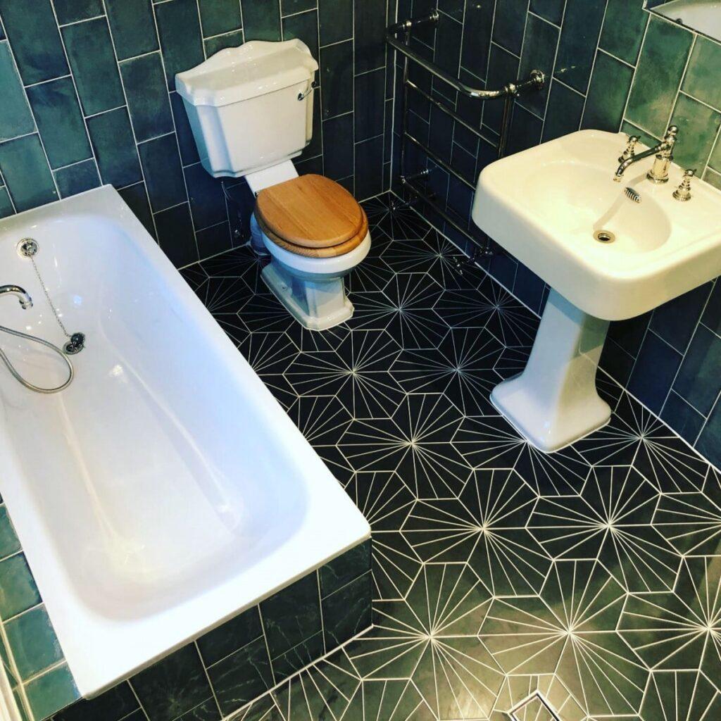 New bathroom renovation