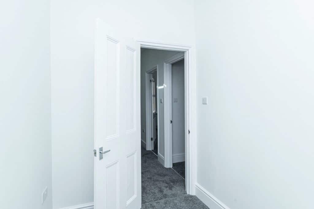 Single bedroom renovation, first floor, Peckham, London