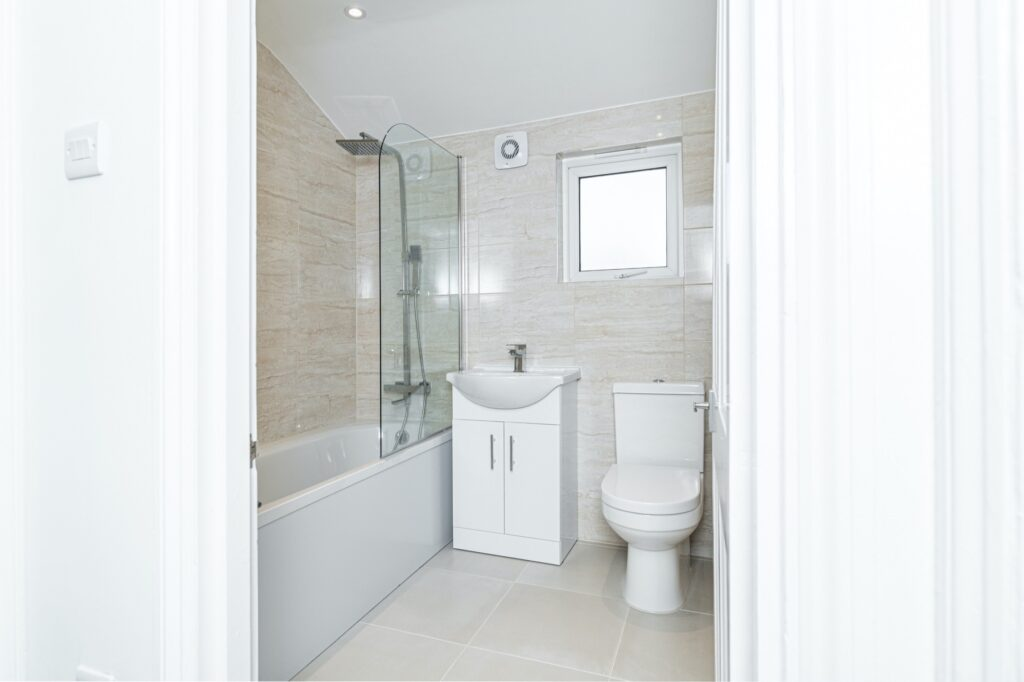 Bathroom renovation, Peckham, London