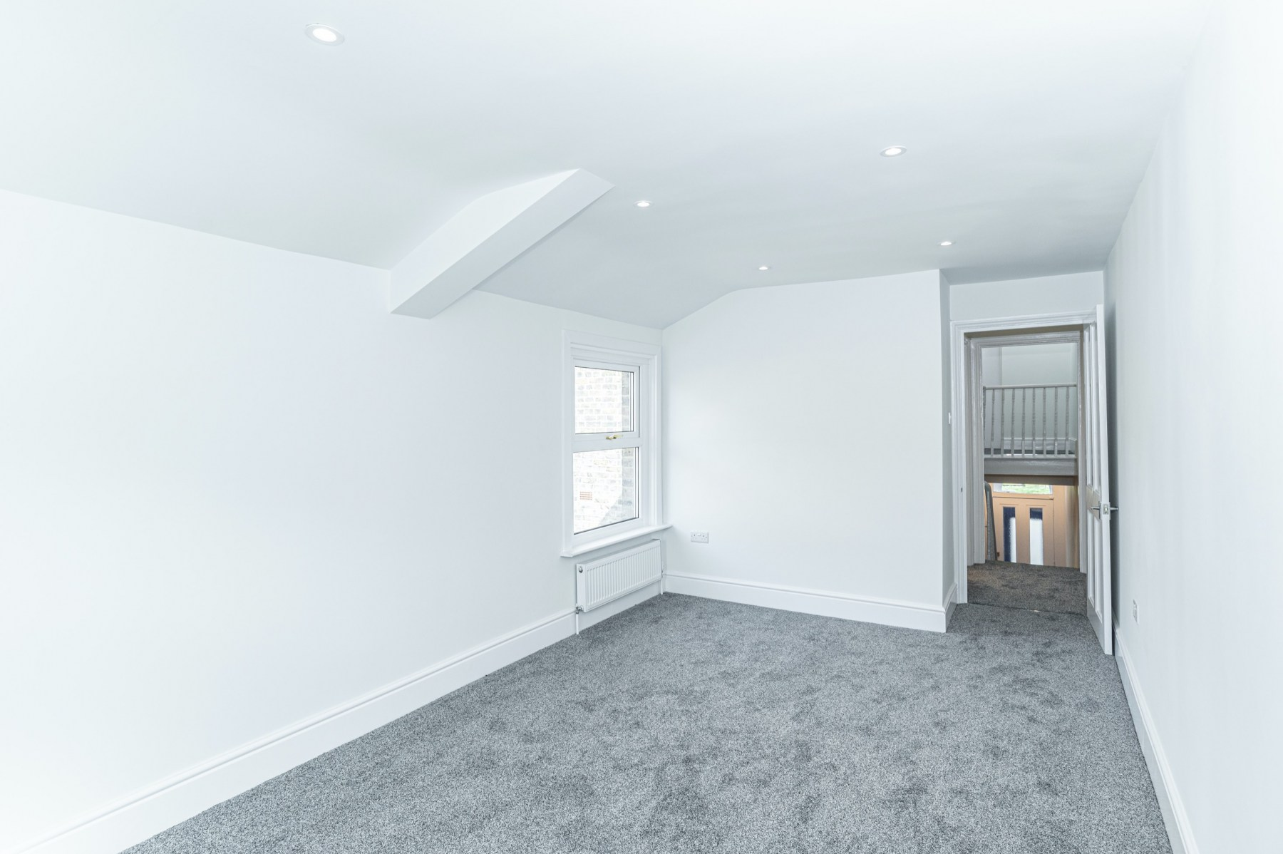Open plan bedroom in Peckham