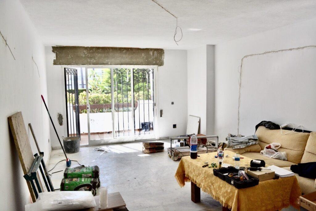 Property under construction