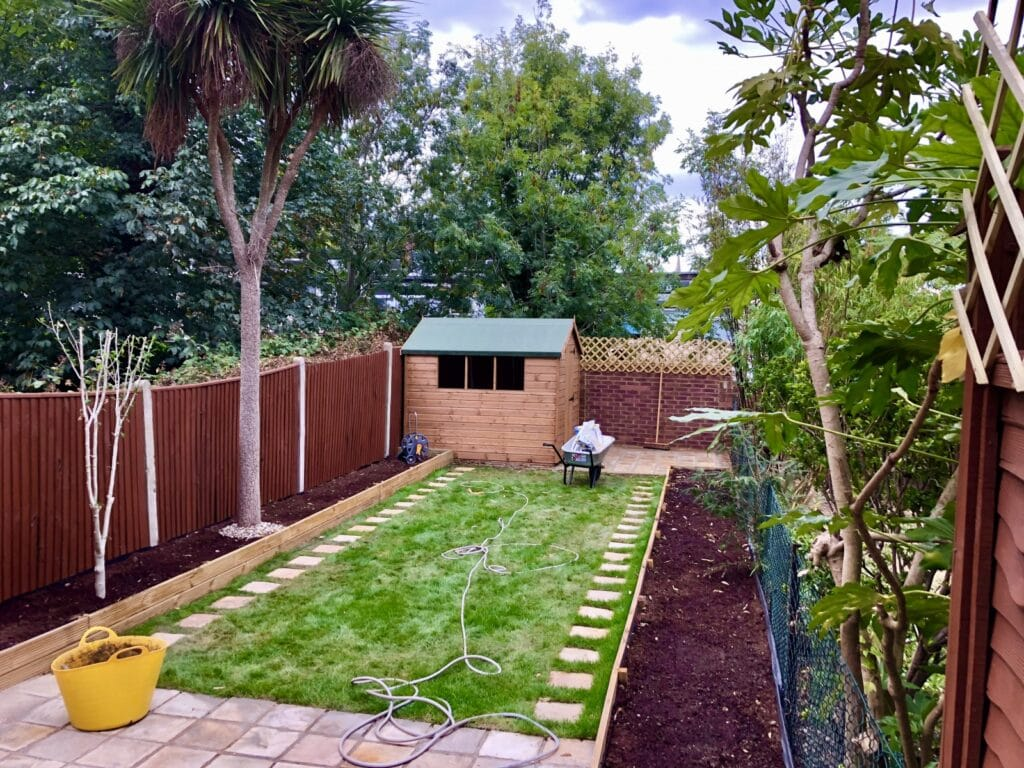 Garden completion, Forest Hill