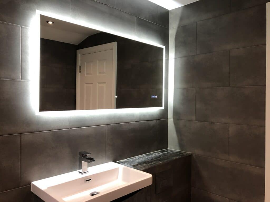 Completion, bathroom renovation at Peckham , London